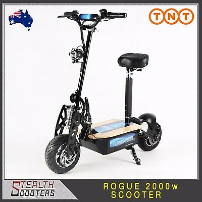 New Stealth Rogue 2000w 60v 12Ah Adults/Kids Electric scooter 1000w 1600w
