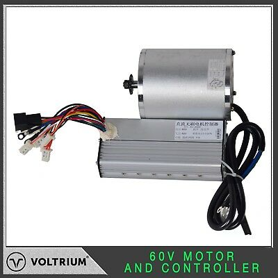 60v 2000w Brushless Electric Motor & Controller Combo