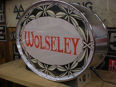 wolseley,classic,hornet,1500,six,series,BL,mancave,lightup sign,garage,workshop