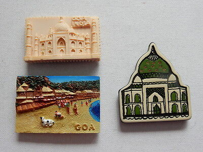 One Selected Souvenir Fridge Magnet from India
