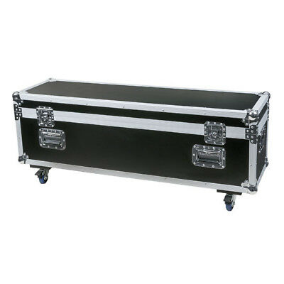 DAP-Audio - Flightcase Stack Case-6, mit Rollen, Schwarz