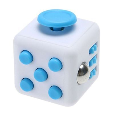 Black Fidget Cube Spinner Toy Children Desk Adults Stress Relief Cubes ADHD