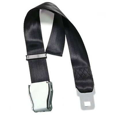 55-100cm Adjustable Airplane Seat Safe Belt Plane Aircraft Seat Belt Extenders