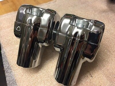 "Handle Bar Risers Genuine Harley Davidson Will Fit 1"" 1/4 Bars"