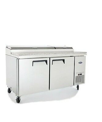 "Atosa 67 ""2 Door Pizza Prep Table Mpf8202 , Free Shipping !!!"