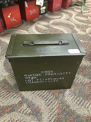 50 Cal Tall Ammo Can Usgi Field Issued Us Army Great Condition