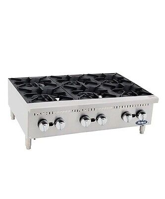 Atosa ATHP-36-6 HD 36″ Six Burner Hotplate