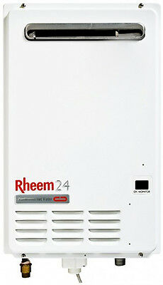 Rheem continuous flow hot water system
