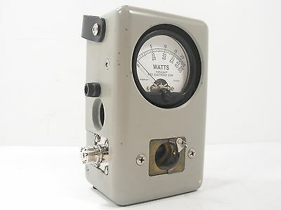 Thruline Bird Model 43 Wattmeter for Ham Radio Power Measurment SN 117359