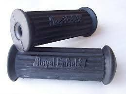 Royal Enfield Foot Peg Rest Rubbers Pair Brand New