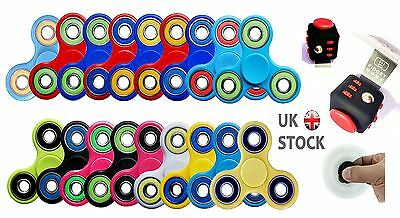Fidget Hand Spinner Toy Spinner Autism ADHD Funny Stress Relieve Pocket Toy