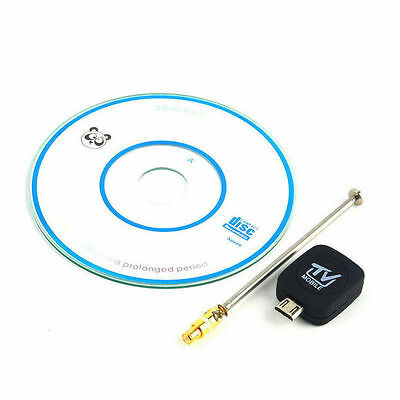 Micro USB DVB-T Digital Mobile TV Tuner Receiver+Antenna for Android 4.0-6.0 RF
