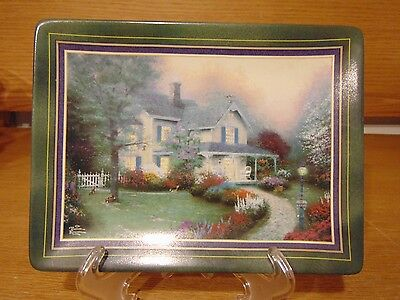 1998 Thomas Kincaid Home Is Where The Heart Is Collector Plate Hometown Memories