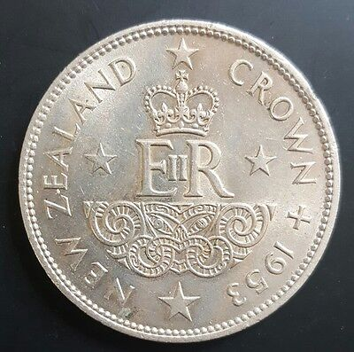 1953 New Zealand Crown. (Coronation). aUNC..