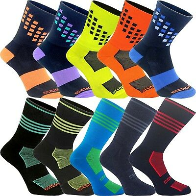 Sokhyte The Business Bike Riding Cycling Socks Assorted Colors Euro Sizes 39-45