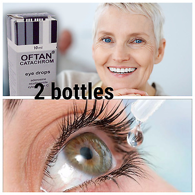 OFTAN CATACHROM eye drops. made in Finland. improves the metabolism of the lens.