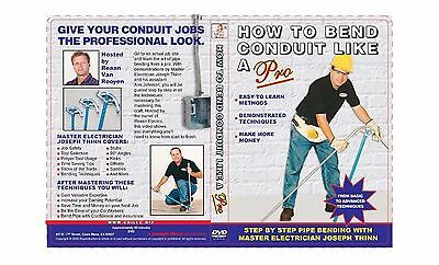 How To Bend Conduit Like A Pro~! Unique Dvd Here @ Great Value_$$$!!!