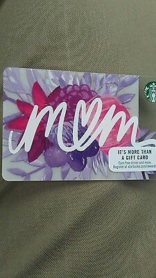 Starbucks card Mom Mothers Day 2017