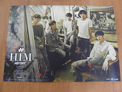 HISTORY - HIM [OFFICIAL] POSTER K-POP *NEW* Heart / Spade