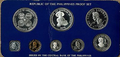 Republic of the Philippines Proof Set Issued by the Bank of the Philippines