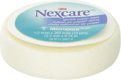 Nexcare Micropore Paper First Aid Tape, 3M, 1 Roll