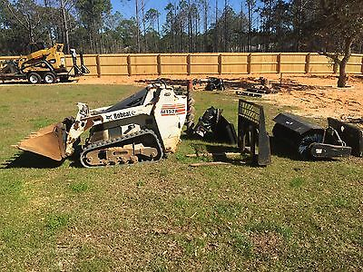 2006 Bobcat MT52 Tracked Skid Steer w/ Attachments!