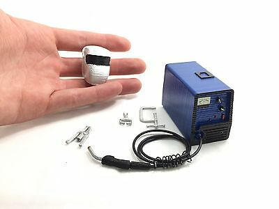 Scale Portable Welding Machine Miniature Doll House Garage RC Accessory TF2 1/10