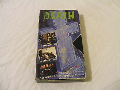 Death...Is Just The Beginning - Metal Compilation - Video - VHS