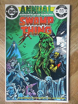 Swamp Thing Annual #2 Very Fine (W10)