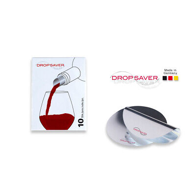 "DROPSAVER ""stop the drop"" (10er-Packung) - Weinausgießer, Flaschenausgießer"