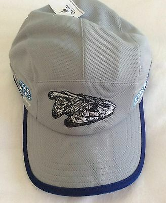 RunDisney Star Wars Kessel Run Challenge 2017 Adjustable Hat Baseball Cap Gray