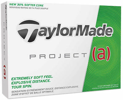 TAYLORMADE PROJECT (a) 1 DOZEN GOLF BALLS - NEW IN BOX - VALUE PLUS!