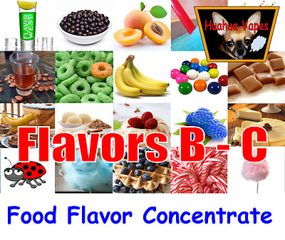 Food Grade Flavor Concentrate The Flavor Apprentice & Flavor West 250 Flavors