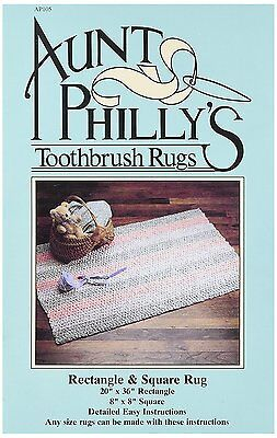 Aunt Philly's: Rectangle & Square Toothbrush Rug