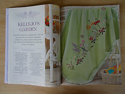Embroidery & Cross Stitch Vol 16 #5~Butterflies~Bead~Shoes~Blanket~Bag~Cushion