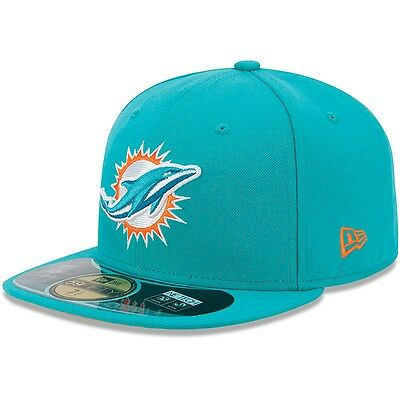 miami dolphins New Era NFL Authentic On-Field 59FIFTY Sideline Cap 7 1/2
