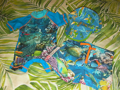 LOT: Newborn Baby Boy Swimwear (birth to 6 months) - 3 items