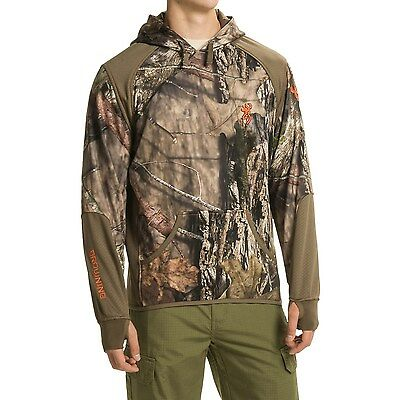 New Men`s Browning Hell's Canyon High-Performance Fleece Hoodie MSRP$135