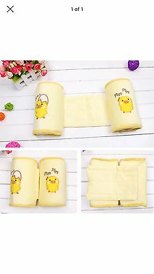 New Baby Pillow Sleep Positioner Anti-roll Support Yellow