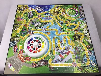 The Game Of Life  -Board Game - Hasbro 2013 - Spare Parts - Board and Spinner -
