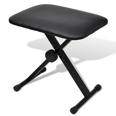 # New Adjustable Keyboard Piano Stool Seat Folding Bench 3 Way Chair Poratble Se
