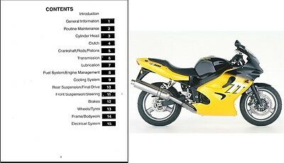 2000-2001-2002-2003 Triumph TT600 ( TT 600 ) Service Manual on a CD