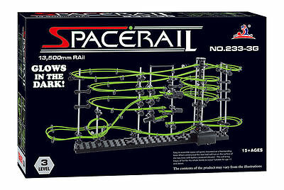 Marble Run SpaceRail Level 3 233-3G Complex Motorised Machine NEW FREE POST