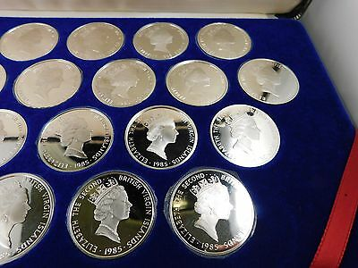 The Treasure Coins of the Caribbean - Franklin Mint 25 Coins