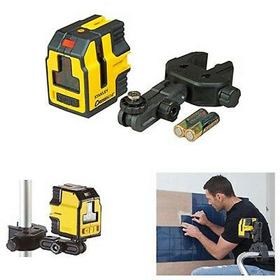 Stanley INT177147 Cross90 Self Leveling Laser Level Kit STHT1-77147 New
