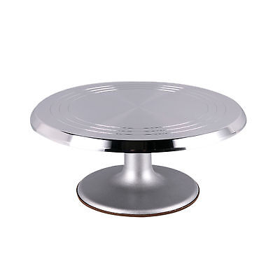 The For Bake Revolving Cake Decorating Stand, Cake Turntable 12inch