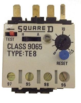 Square D Thermal Overload Relay TE 8