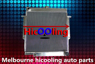 56MM H'Duty Radiator FOR Toyota Landcruiser HZJ78 HZJ79 70 Series 1999-2006 MT