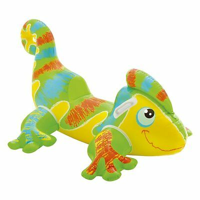 Intex Smiling Gecko Ride-On Inflatable Toy Pool Rider Beach Lilo Swim Float Kids