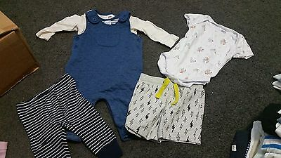 Bulk Lot Baby Boy Size 00 Clothes